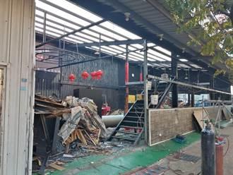 上百名警力搜索蘆竹外勞舞廳 房東隔週主動拆除店面