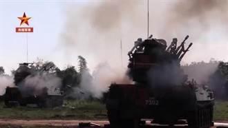 共軍在廣東演練新型防空武器 瞬間形成火力網