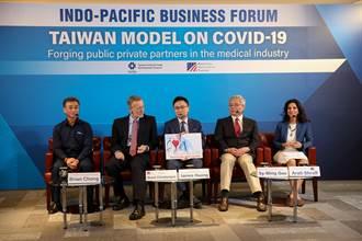 2020年印太商業論壇登場 台以醫療防疫首次公開參與