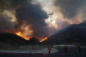 南加州野火再起 上千萬居民撤離
