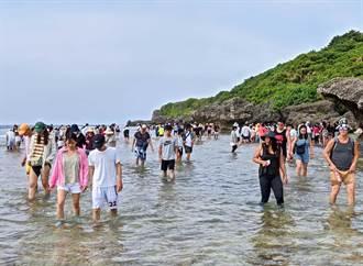 小琉球熱門潮間帶杉福、漁埕尾 12月起封閉休養4個月