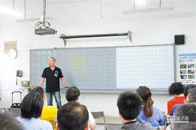 涉嫌強制猥褻9歲女童被重判的前國小教師張博勝。(本報資料照片)