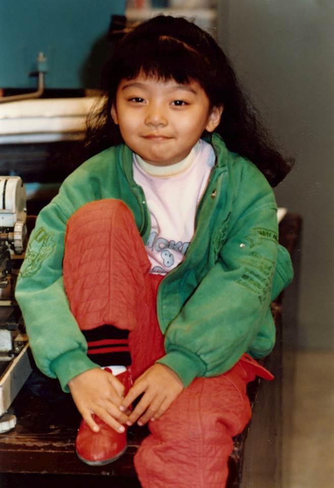 本名蔡亞臻的糖糖,曾在台灣紅極一時,成年後逐漸淡出演藝圈。(圖/中時資料庫)