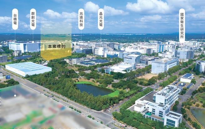竹科竹南園區稀有萬坪所有權土地。圖/高力國際提供