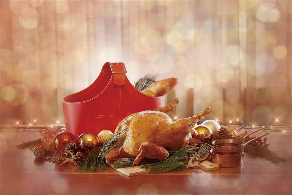 新竹喜來登推出多款感恩節火雞禮籃,提供創意多變的經典美味。(喜來登提供/羅浚濱新竹傳真)