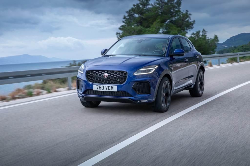 全面導入 48V MHEV/PHEV 電氣化總成與先進車載技術,Jaguar E-PACE 小改款發表!