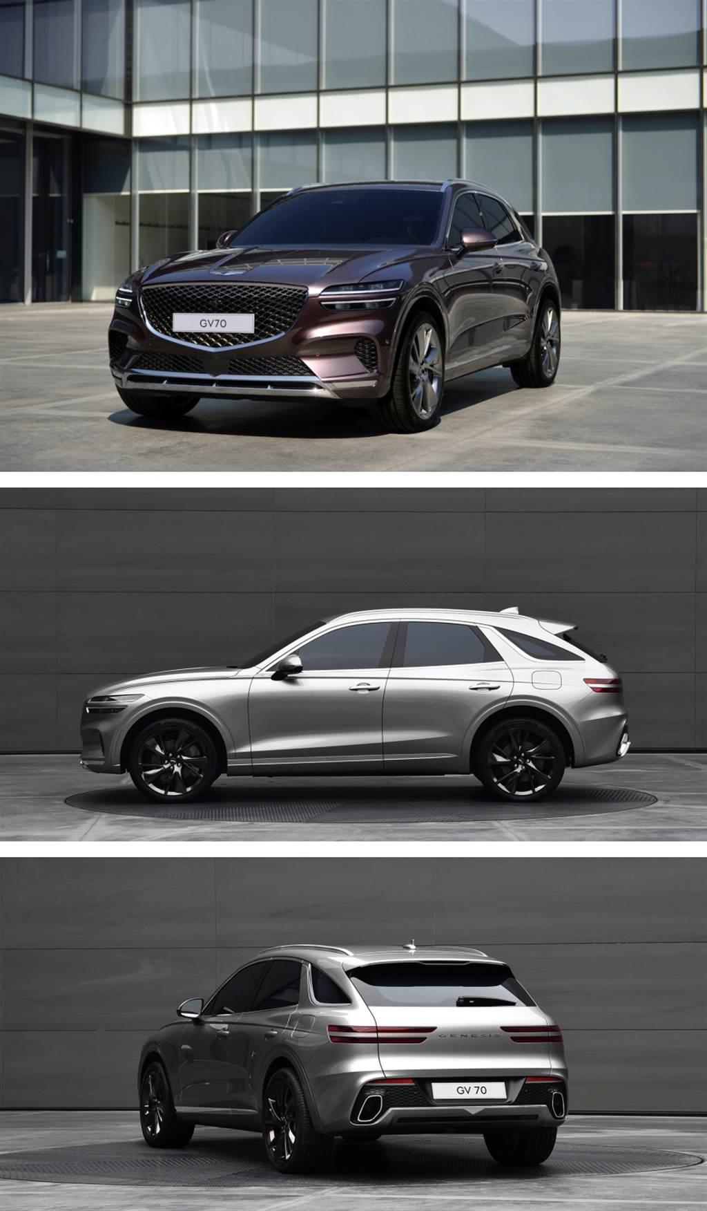 品牌第二款 SUV 產品姍姍來遲、Genesis GV70 原型車首度亮相