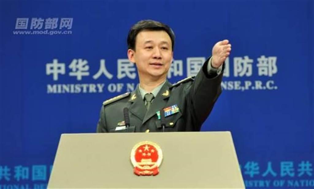 大陸國防部新聞局局長吳謙。取自大陸國防部
