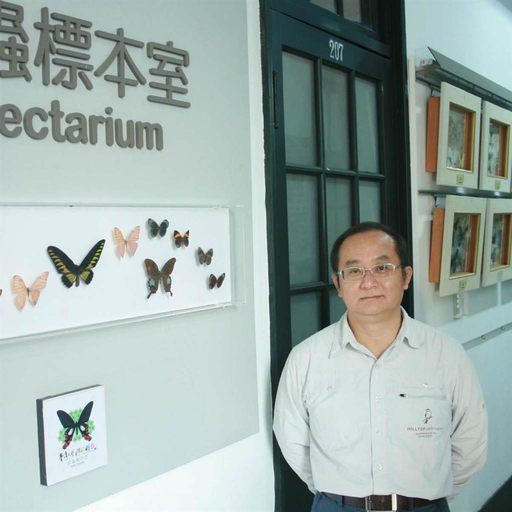 台大昆蟲系教授柯俊成(摘自台大昆蟲系官網)
