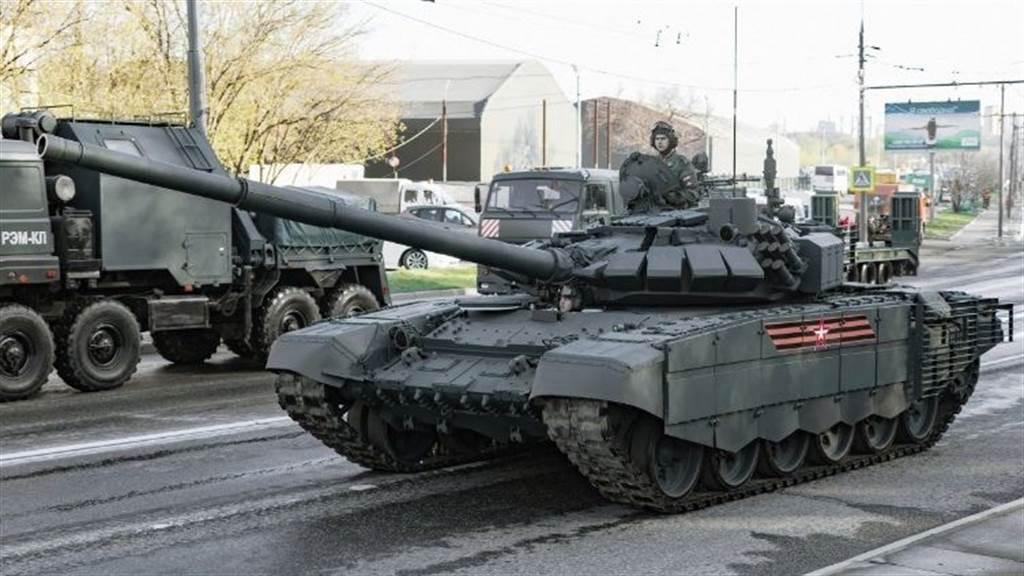 T-72B3戰車。(圖/俄羅斯聯邦陸軍)