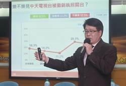 游盈隆:NCC處處限制中天代表的發言 無助於釐清事實