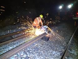 台鐵逐步增補道班人力 採購新型養護機具