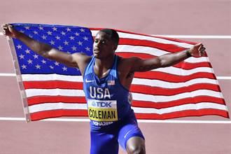 美國新飛人柯曼遭禁賽兩年處分 錯過明年東京奧運