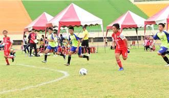 彰化縣長盃五人制足球賽開打  三箭守護學子健康