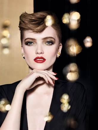 歐美頂級彩妝慶耶誕 以金燦色調裝飾節慶
