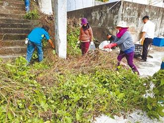 台東林漁業合作 攜手除蔓