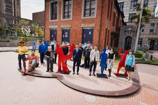 新竹市美術館即日起推出年度壓軸大展「新竹擺態-Hsinchu Pose」,帶大家一窺新竹職人的各種姿態。(陳育賢攝)