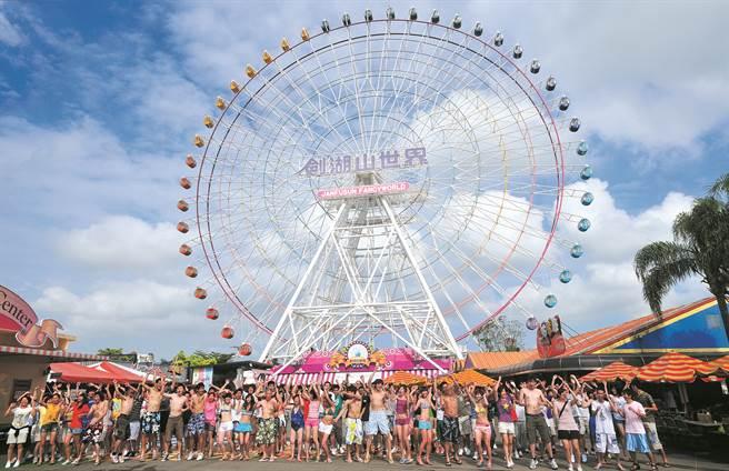 劍湖山世界旗下劍湖山主題樂園及劍湖山渡假大飯店在2020年台北國際旅展(ITF),推出前所未有的高CP值優惠活動。(主辦單位提供)
