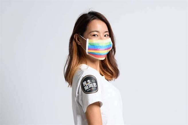 蔡英文在10月25日臉書發文挺同志大遊行。圖/取自蔡英文臉書