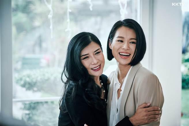港劇《熟女強人》由吳家麗、胡杏兒等人主演。(KKTV提供)