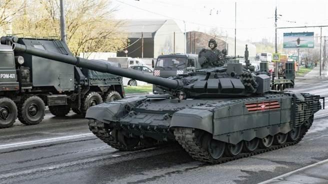 T-72B3战车。(图/俄罗斯联邦陆军)
