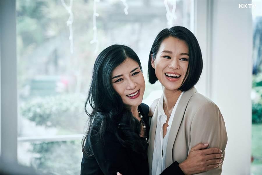 港剧《熟女强人》由吴家丽、胡杏儿等人主演。(KKTV提供)