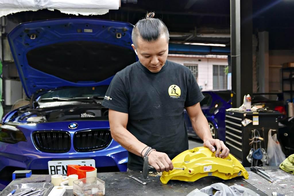 讓卡鉗成為汽車時尚的汽車職人《張仲華》