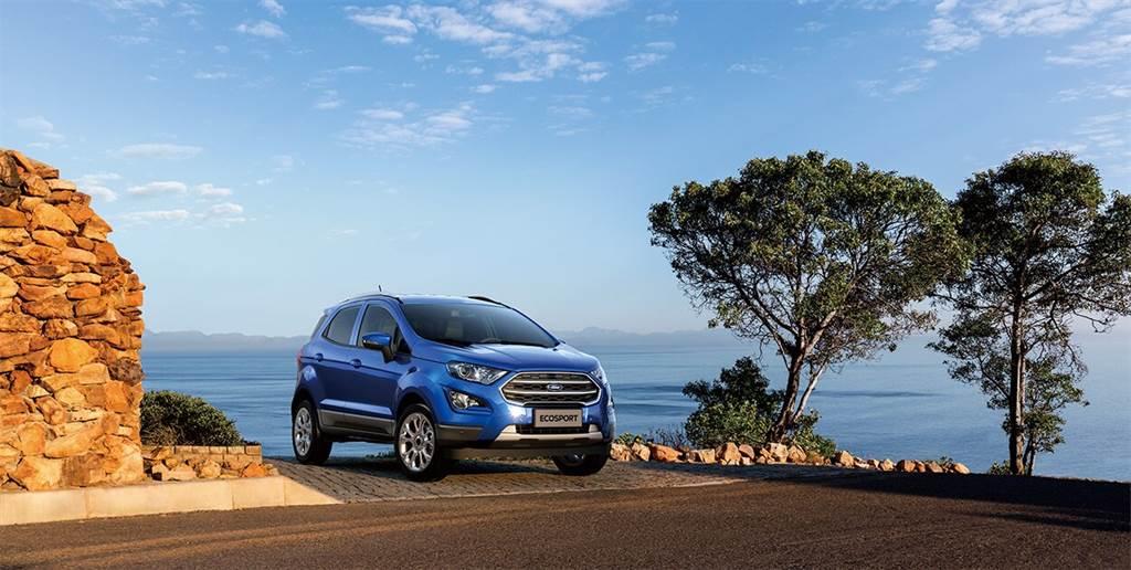 Ford EcoSport 升級搭載BLIS視覺盲點偵測系統,十一月入主再享首年低月付。