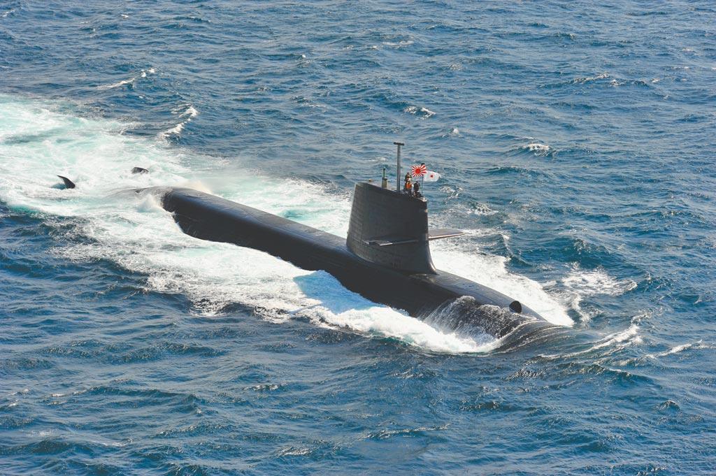 日本苍龙级潜鑑。(取自日本海上自卫队官网)