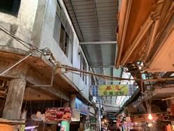 龍潭市場啟用近50年 地方規畫5項修繕拚回春