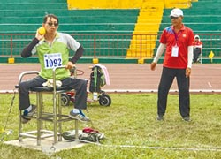 55歲身障田徑選手 再為雲林披戰袍