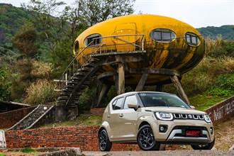 小車外貌下的輕油電新勢力,2021 Suzuki Ignis Hybrid 1.2 DualJet SHVS
