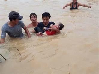 30年來最嚴重!越南洪災肆虐 150萬名兒童恐失去教育機會