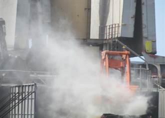 台中港裝卸水泥熟料揚塵致空汙 碼頭人員要港務分公司負責