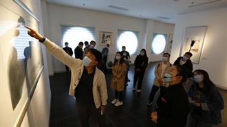 品翰墨兩岸香 魯台港澳記者走進中國書畫藝術之鄉