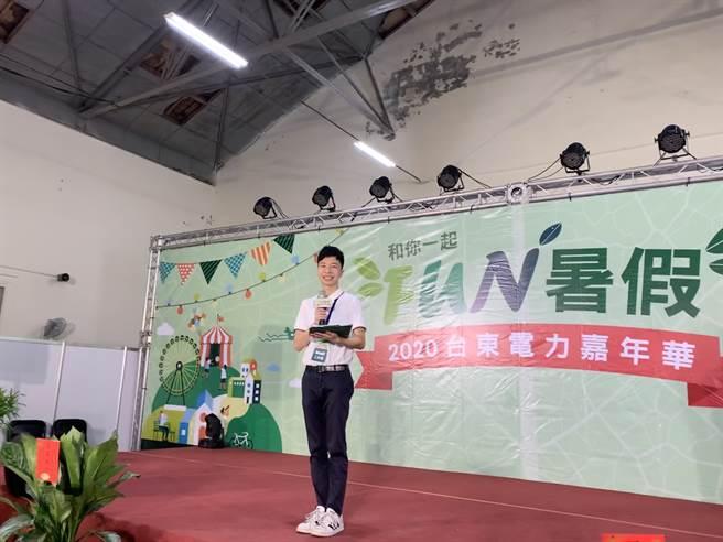 邱宇崑建議對主持有夢的朋友勇敢做自己,表現自己,不要恐懼站上舞台(邱宇崑提供)