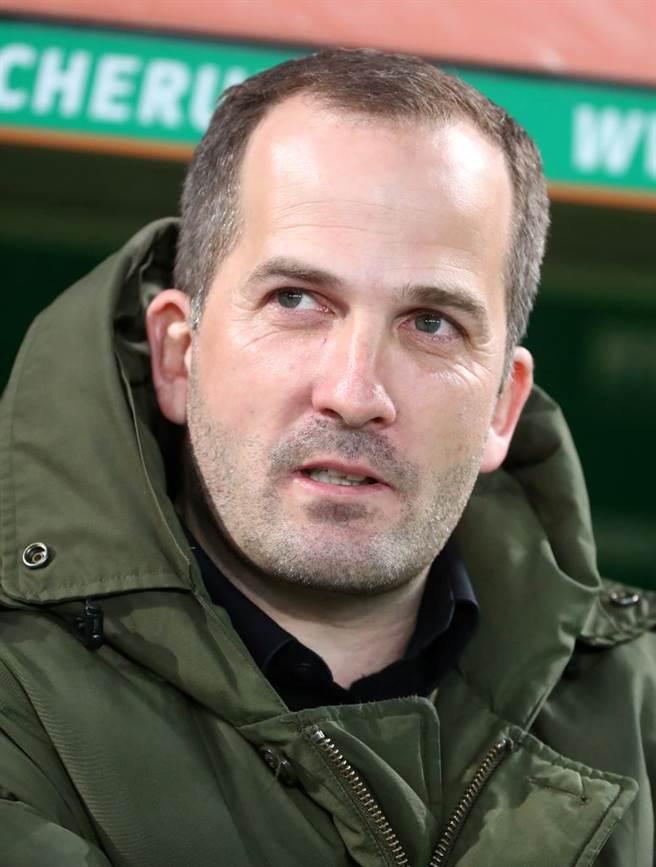 沙爾克04 新主帥 Manuel Baum 上任後仍沒有取得勝仗 (圖片來源︰達志影像)