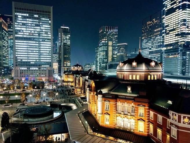 圖為東京車站。(王嘉慶攝)