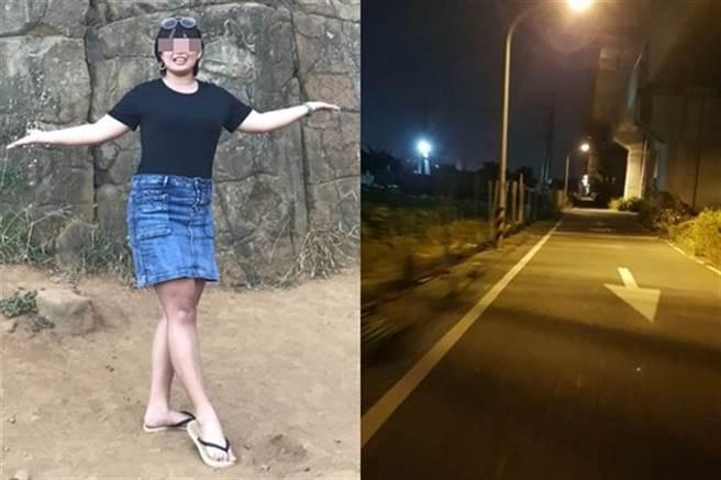 長榮大學馬來西亞籍鍾姓女大生,遇害棄屍阿蓮山區。(圖/翻攝自Dcard)