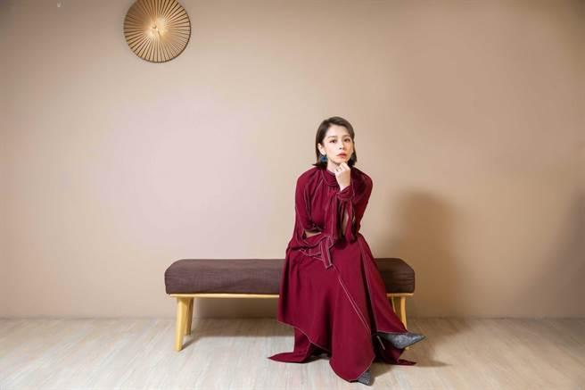 徐若瑄表示《孤味》探討大部分家庭面對的問題,很容易跟觀眾有共感。(石智中攝)
