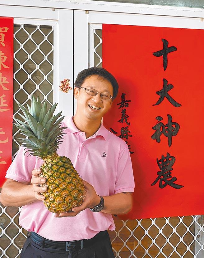民雄鄉陳映延獲選農委會第32屆神農獎。(張亦惠攝)