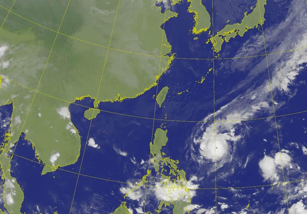 10月秋颱有如雨后春笋不断冒出,对此台湾颱风论坛也给出原因 (图/气象局)