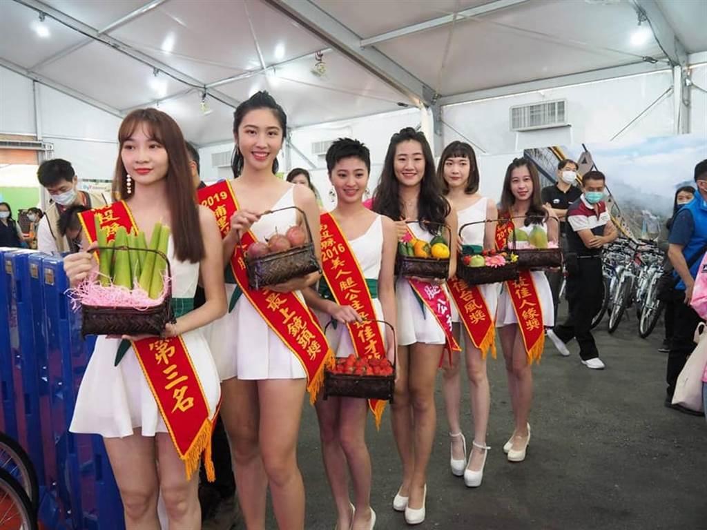 6位「美人腿公主」獲獎者。(圖/取自許淑華臉書)