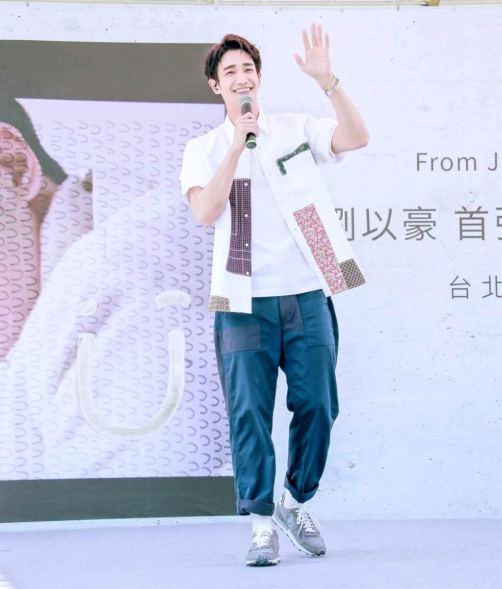 素有「台灣最萌男友」之稱的劉以豪因名模大賽得獎後進入演藝圈,在韓國也大放異采。(羅永銘攝)