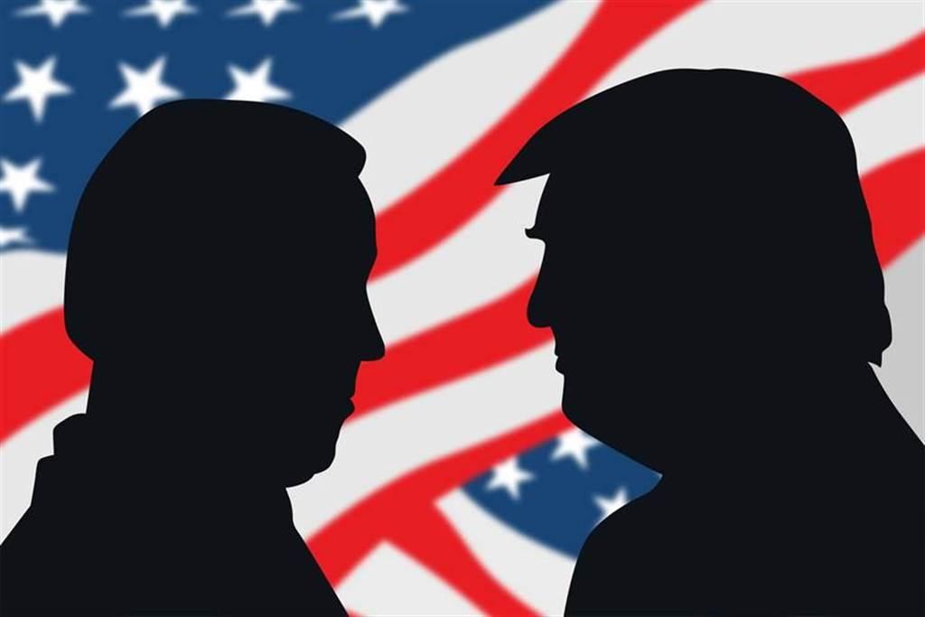 美大選進入倒數階段。(示意圖/shutterstock達志影像)