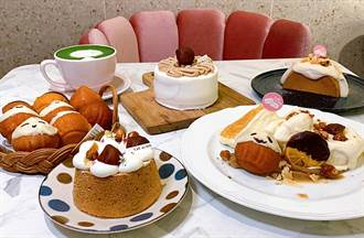 秋季必吃限量「栗子舒芙蕾鬆餅」內藏焦糖榛果每一口都驚喜