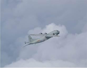 國防部公布 今日一架大陸軍機進入我西南空域