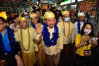 緬甸光明點燈節 中和點燈為台灣祈福