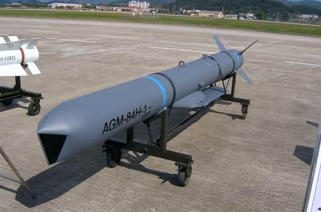 大陸專家認為增程型空射巡航導彈由F-16搭載,可以大幅增加射程。(圖/檔案照)