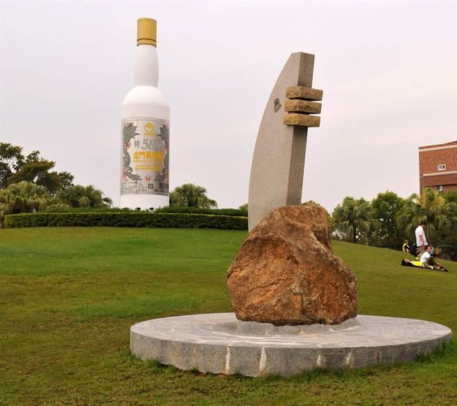 金酒近年屢次在國際大賽榮獲金獎,建立華人第一白酒品牌的地位。(李金生攝)